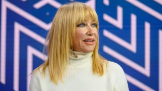 """In this Jan. 7, 2020, file photo, Suzanne Somers appears on """"TODAY."""""""
