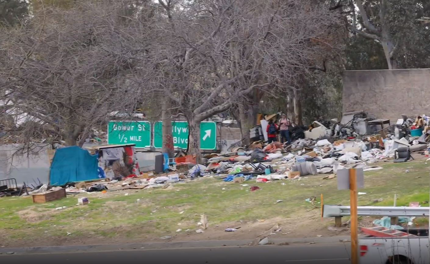 LA's Biggest Garbage Dump is Now Its Famous Freeways