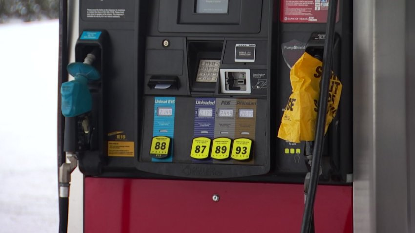 Finding fuel has been an issue for some drivers in North Texas after the massive winter storm.