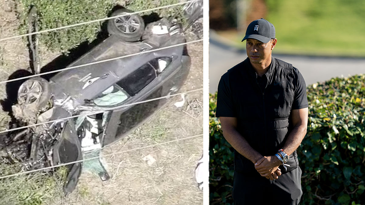 Tiger Woods Was Speeding at About 85 MPH Before SUV Rollover Crash, Sheriff Says