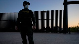 A U.S. Customs and Border Protection agent