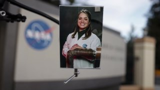 An image of NASA engineer Cynthia Sarmiento, who was born and raised in San Diego.