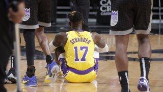 Los Angeles Lakers v Sacramento Kings