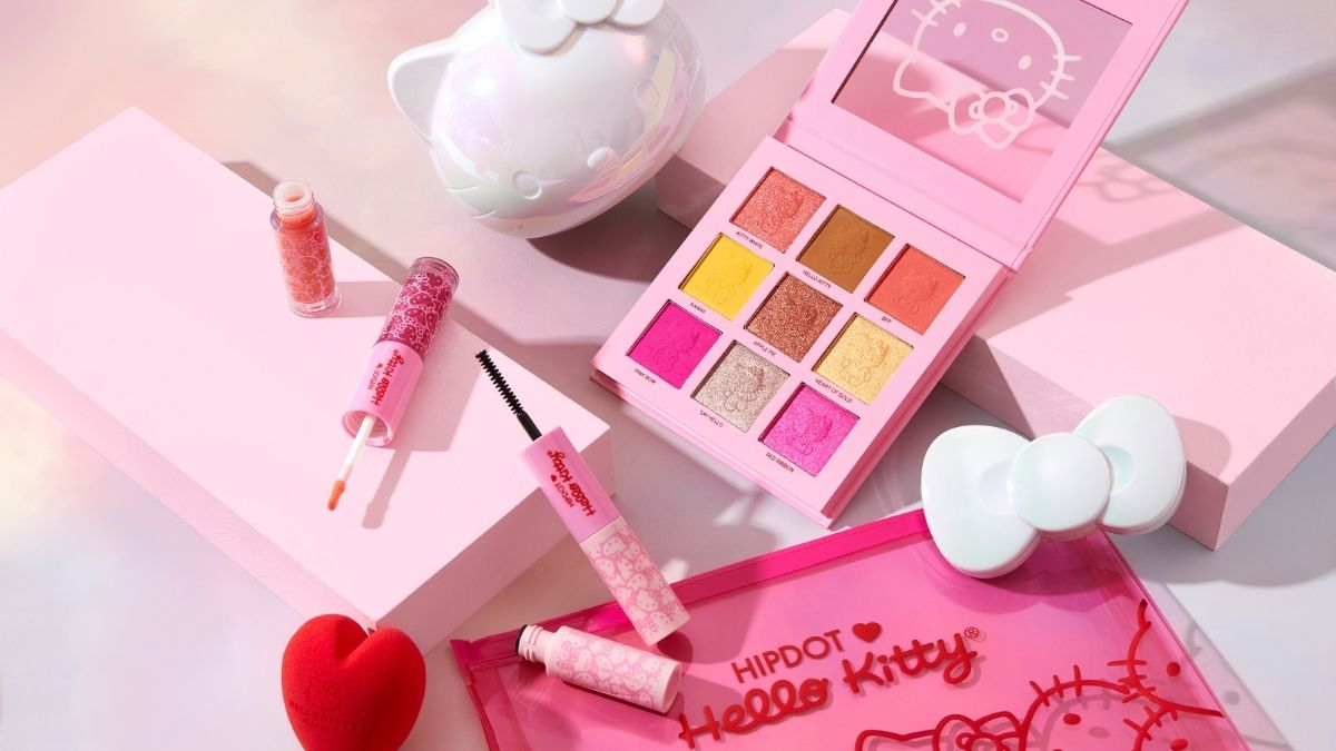 HipDot Cosmetics Teams Up With Hello Kitty for 4-Product Collection