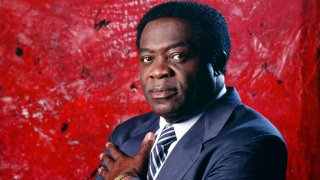 """In this file photo, Yaphet Kotto is photographed as Lt. Al Giardello on """"Homicide: Life on the Street"""" Season 6."""