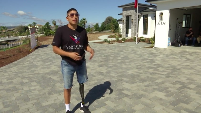 Wounded Veteran Gets a New Home in Temecula Outfitted to His Needs