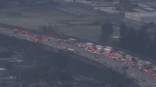 One person was killed in a crash on the 60 Freeway.