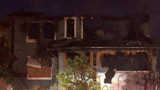 Fire burned a vacant Westlake District house.