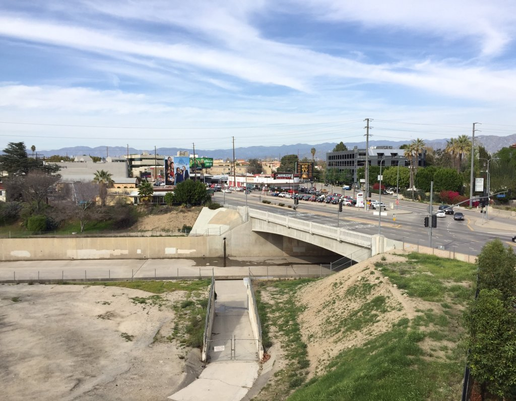 The Lankershim Bridge