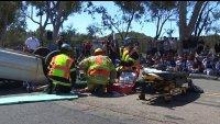 Crash Reenactment Aims to Show Teens Dangers of DUI