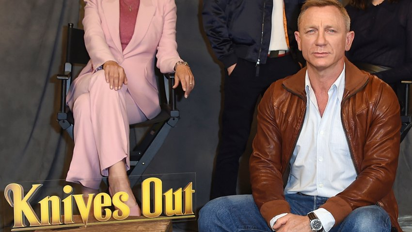 "Daniel Craig attends the ""Knives Out"" photo call"