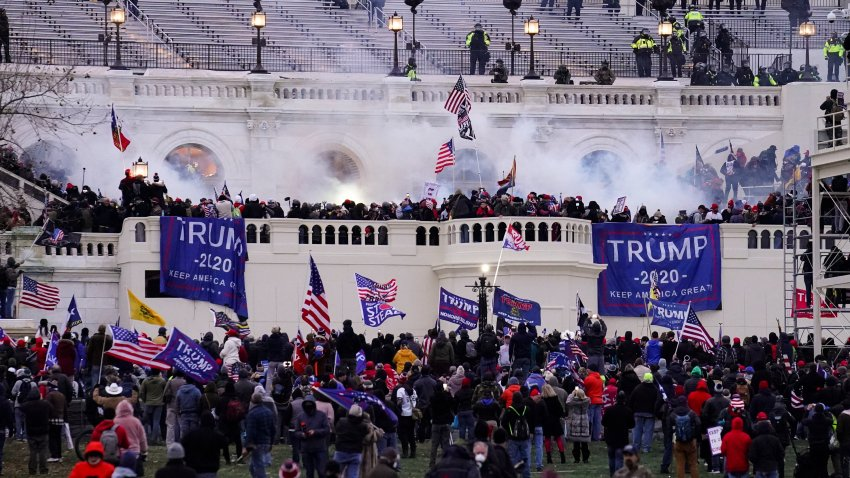 violent rioters storm the Capitol, in Washington
