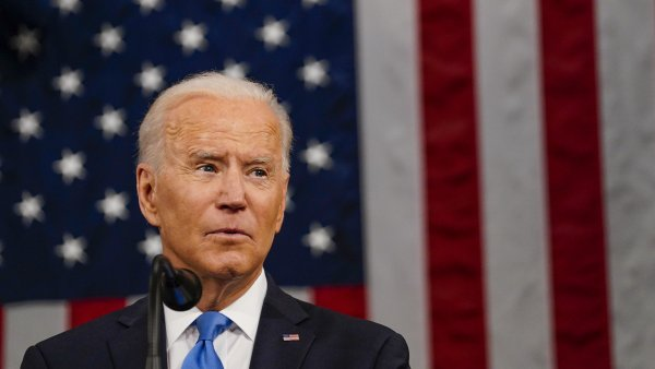 Harris, Pelosi Make History Seated Behind Biden at Speech 2