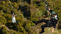 Zip Line Weddings Take 'I Do' to New Heights on Catalina Island