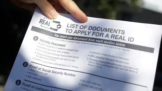 a List of Documents to Apply for a Real ID