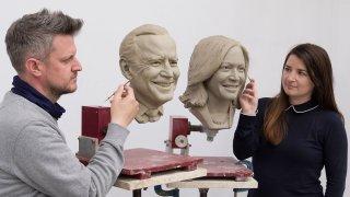 Biden and Harris Madame Tussauds