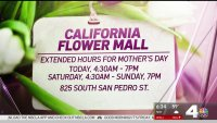 Mother's Day Brings a Rush at California Flower Mall