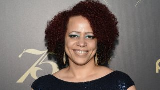 FILE - In this May 21, 2016, file photo, Nikole Hannah-Jones attends the 75th Annual Peabody Awards Ceremony at Cipriani Wall Street in New York. Weeks of tension over the hiring of investigative journalist Hannah-Jones at the University of North Carolina at Chapel Hill will now come down to a decision from the school's board of trustees on whether to offer her tenure.