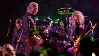 Metallica in concert in San Francisco in 2019.