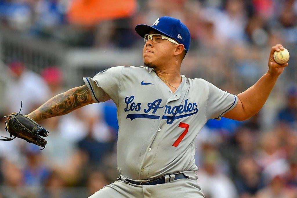 MLB: JUN 04 Dodgers at Braves