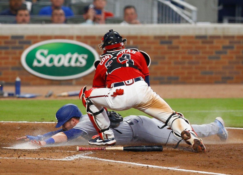 Los Angeles Dodgers v Atlanta Braves