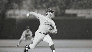 Mike Marshall Pitching