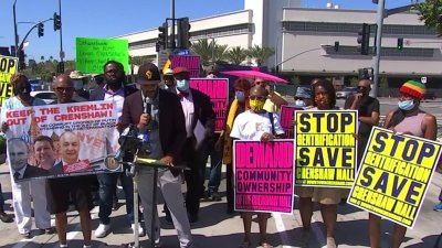 Fight Over Crenshaw Mall Ownership