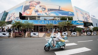 a view of the Palais des Festivals at the 71st international film festival, Cannes