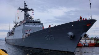 south korea destroyer munmu the great