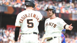 MLB: JUL 29 Dodgers at Giants