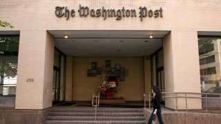 Office of the Washington Post on May 03, 2012, in Washington, United States.