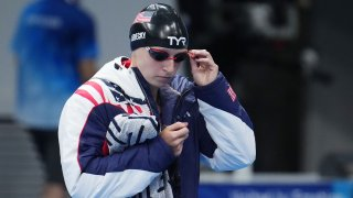 Katie Ledecky will become the first female swimmer in history to race the 200m freestyle and 1500m freestyle finals in the same night.