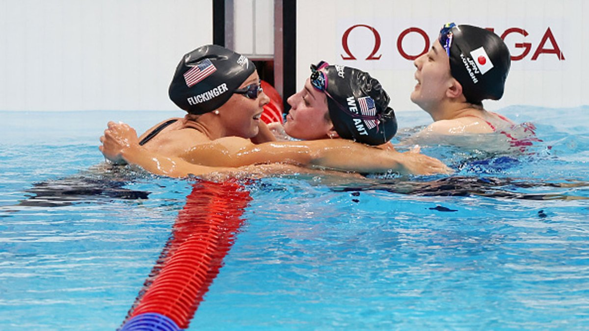 Team USA Dominates in the Pool After Slow Start to Tokyo Olympics