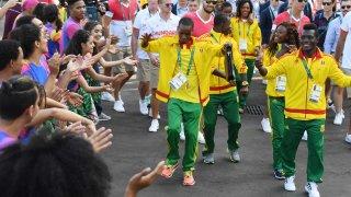 Guinea at Rio Parade of Nations