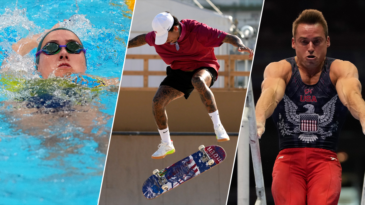 Watch: Gymnastics, Swimming, Skateboarding and More