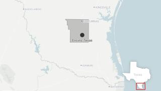 Encino, Texas Locator