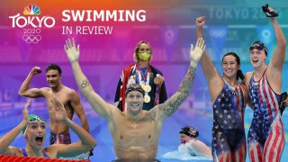 Relive an unforgettable nine days of swimming at the Tokyo Olympics.