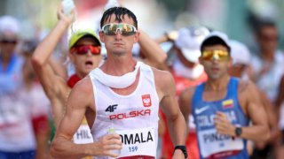 Virtual unknown Dawid Tomala of Poland on Friday won the 50km walk gold medal at the Tokyo Olympics.