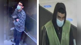 A man who breached security at LAX is pictured in photos provided by investigators.