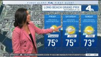 First Alert Forecast: Comfortable Temperatures, Smoky Skies