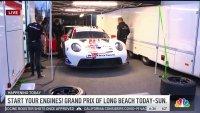 Race Teams Prepare for the Grand Prix of Long Beach