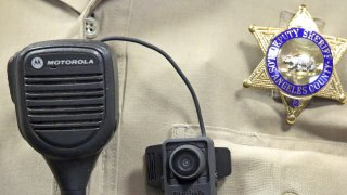 The Los Angeles County Sheriff badge.