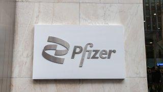 Pfizer headquarter in NYC