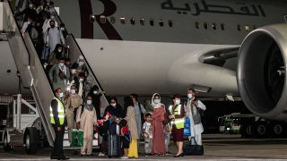 flight carrying foreigners out of the Afghan capital