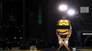 Lakers, Media Day, LeBron James