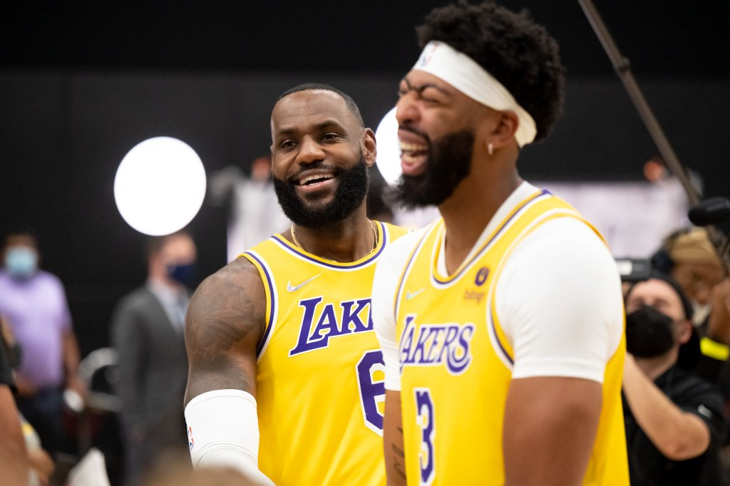 Lakers Media Day 2021