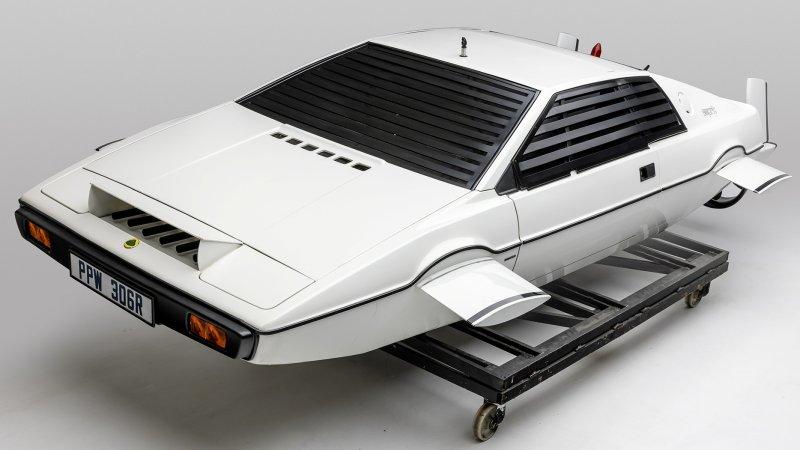 Q Up for LA's Largest-Ever Exhibit of James Bond Cars