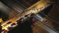 Shots Fired at Freeway Overpass in Whittier, Hospitalizing Three People