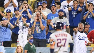 MLB: AUG 03 Astros at Dodgers