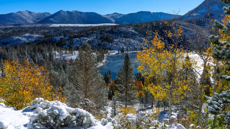 Flurry Up, Fall: Winter Just Dropped by Mammoth Lakes
